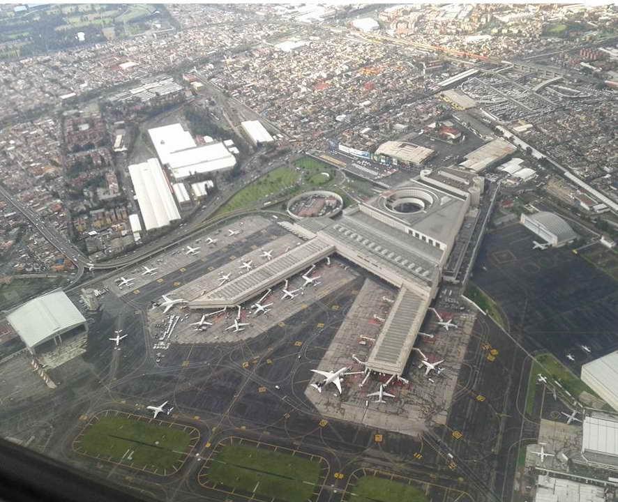 Airport In Juarez Chihuahua Mexico