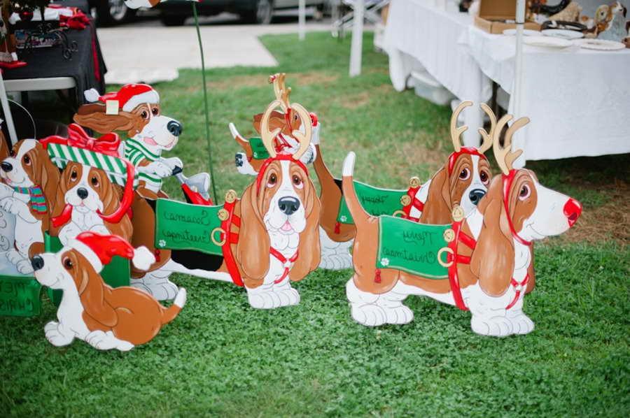 Basset Hound Lawn Ornament
