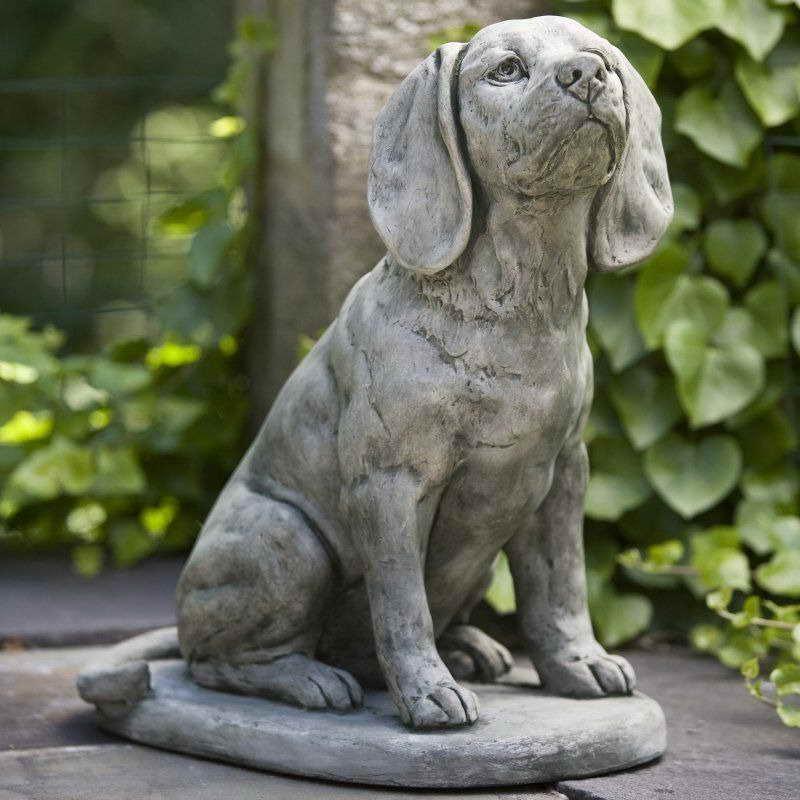 Beagle Garden Statues