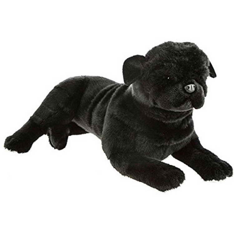 black pug stuffed animal black pug stuffed animal toy pets and dogs 4350