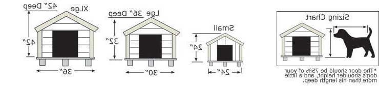 dog house size for husky petsidi