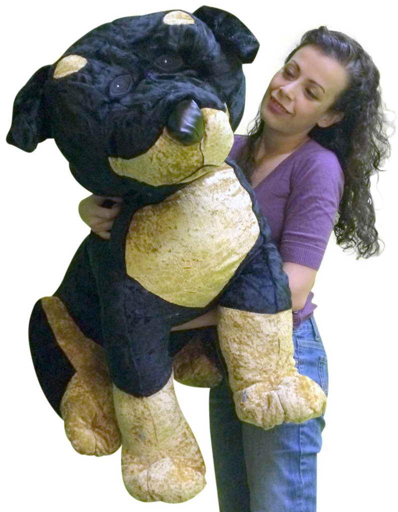 Giant Stuffed Rottweiler