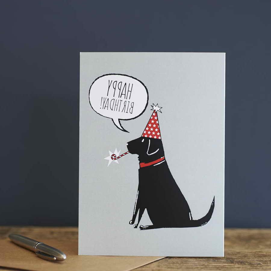 Labrador Birthday Card